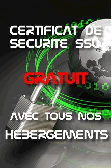 Certificat SSL gratuit