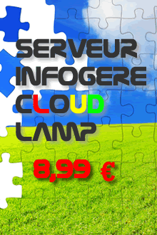 Serveur infogéré LAMP cloud