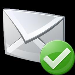 Mail vérifié