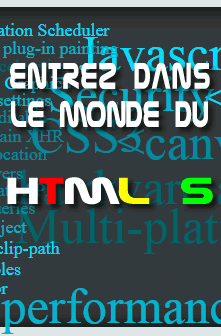 Entrez dans le monde du HTML 5